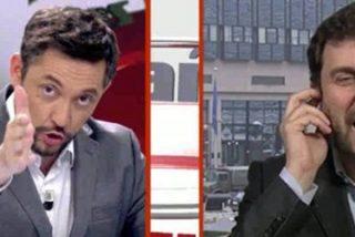 Junqueras llama cobardes a los fugados y Toni Comín tiene el rostro de negarlo y culpar e insultar a la prensa española
