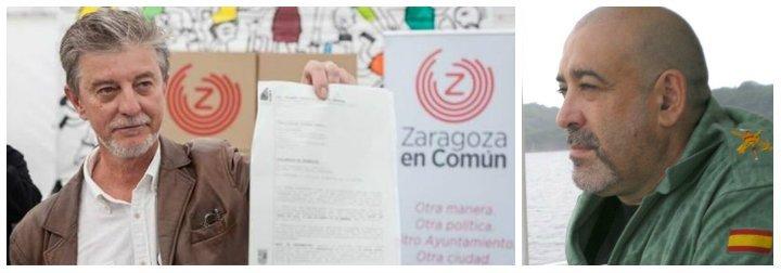 Federico Jiménez Losantos carga contra el alcalde 'podemita y engominado' de Zaragoza por pisotear la memoria del exlegionario asesinado