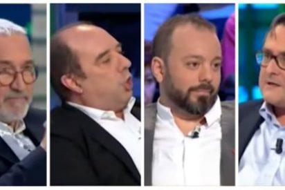 """Marhuenda, a los 'desmemoriados' Sardá, Maestre y Maraña: """"¡Franco era tan dictador como los comunistas que os gustaban!"""""""