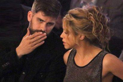 Shakira, arropada por Gerard Piqué antes de pasar por el quirófano