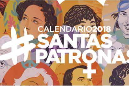 El blasfemo santoral de Podemos donde canonizan a su asesina favorita