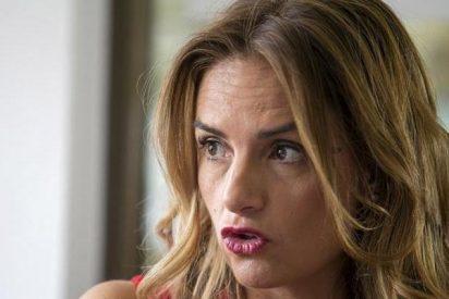 """Susana Sumelzo, diputada del PSOE, enloquece con Eduardo Inda en un restaurante: """"¡Okdiario es una puta basura!"""""""