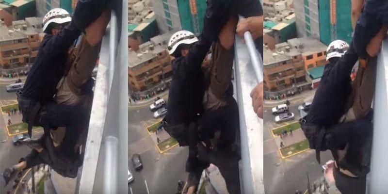 La espantosa muerte del cliente que subió a comprar el piso 15 y se tiró desde arriba