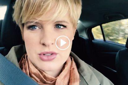 Tania Llasera muy cabreada con el portal Sofsollsb por decir que su marido le ha sido infiel por su peso