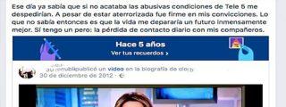El capo Paolo Vasile despide de Telecinco a la periodista que denunció ser 'explotada'