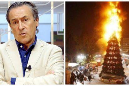 """Tertsch pone en su sitio a los que escupen la Navidad: """"Los jóvenes creen que los incendios de iglesias eran actos antifascistas dignos"""""""