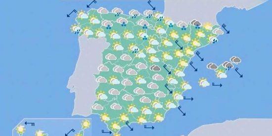 El Tiempo en España: Mejor si coges el paraguas porque habrá nubes y lluvias en el fin de semana