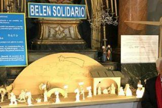 El 'Belén Solidario' de San Antón, un
