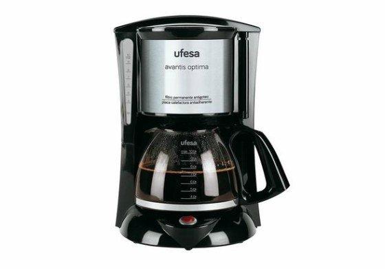 cafeteras más vendidas en Amazon -Ufesa CG7232 - Cafetera de goteo