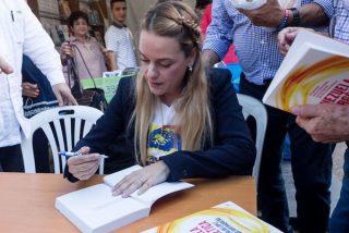 Lilian Tintori presenta en Caracas el libro que Leopoldo López escribió en la cárcel