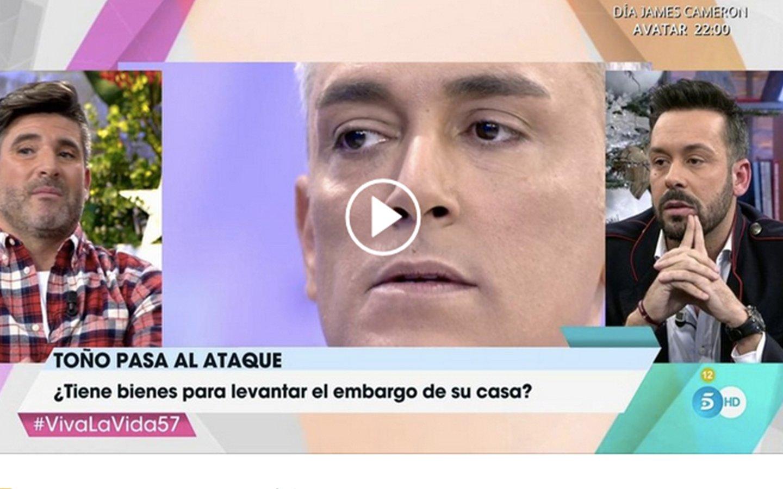 'Viva la vida': El golpe sucio y bajo de Toño Sanchís a Kiko Hernández