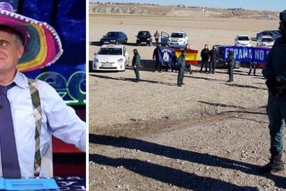 Wyoming niega a la Guardia Civil el pan y la sal: 'El Intermedio' evita mencionar que los agentes protegieron a los independentistas en Estremera