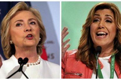Cuidado al 'efecto Hillary' que puede acabar con las aspiraciones de la 'Madame Killer' del PSOE