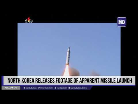 El provocativo vídeo de un terrible misil balístico lanzado por Corea del Norte