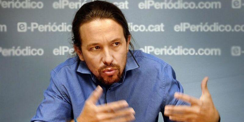 El cursi Pablo Iglesias plantea cambiar el nombre a Podemos para ver si mejoran las cosas