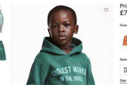 """H&M retira una foto acusada de racista: un niño negro con una sudadera que dice """"el mono más chulo de la jungla"""""""