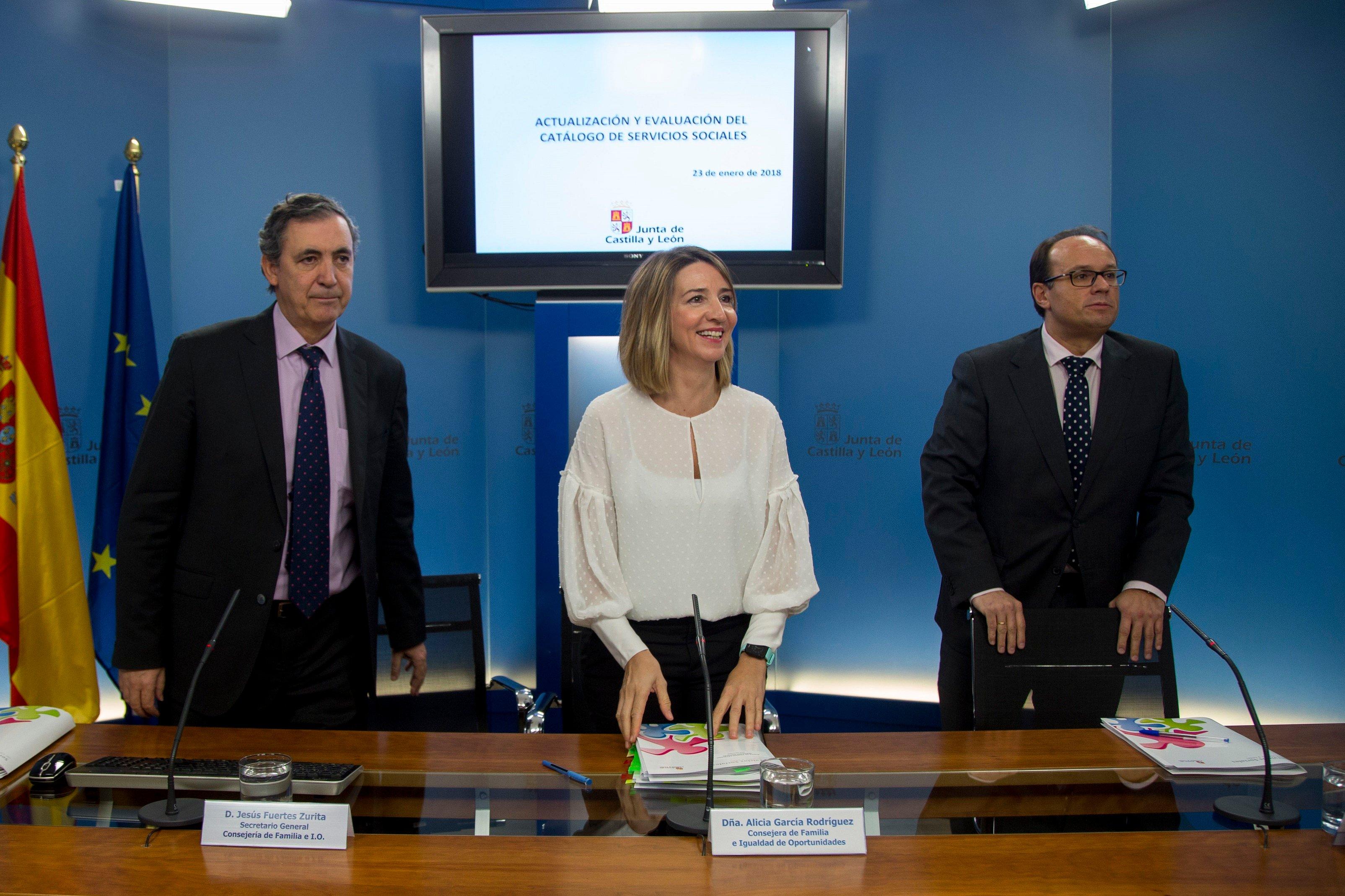 La Junta actualiza, amplía y mejora las prestaciones del Catálogo de Servicios Sociales de Castilla y León