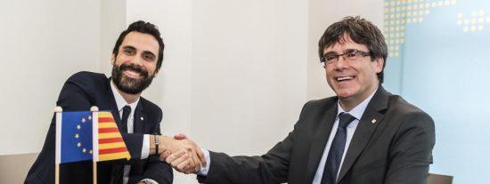 Los secretos de alcoba entre Puigdemont y Torrent sobre la investidura