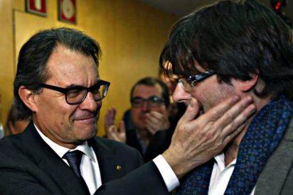 El envenenado recado de Artur Mas al loco de Puigdemont ante Ana Pastor