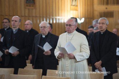 El Papa se va de ejercicios espirituales del 18 al 23 de febrero