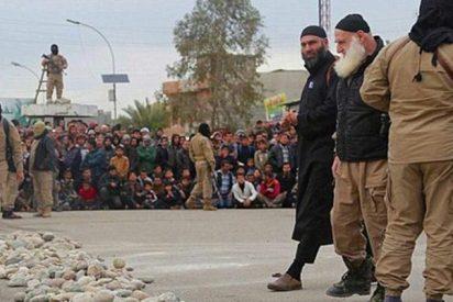 Atrapan en Mosul al verdugo de la barba blanca que lapidaba a granel para el Estado Islámico