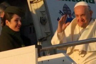 Su viaje más difícil: el Papa Francisco ya vuela hacia Chile