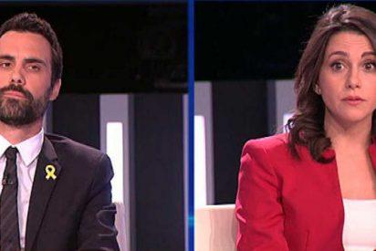 Así le quita la careta Inés Arrimadas al peligroso nuevo presidente del Parlament