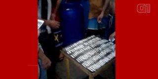 Los presos esnifando 100 rayas de cocaína en una cárcel brasileña
