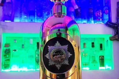 La botella de vodka 'más cara del mundo, robada en Dinamarca, aparece vacía