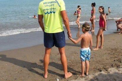 La técnica infalible para encontrar a tu hijo perdido en la playa