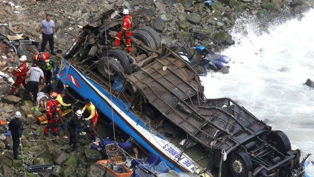 """El Papa, """"vivamente apenado"""" por el accidente de tráfico en Perú"""