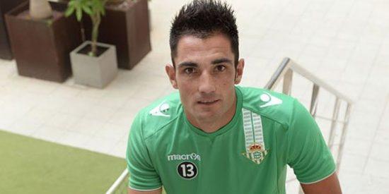 """El bético Antonio Adán se mete un gol en propia meta llamando a su novia """"puta sevillista"""""""