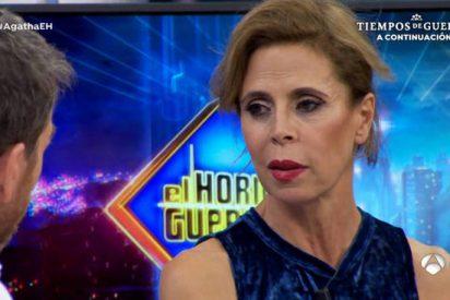 Agatha Ruiz de la Prada dice que pasa de 'felicidad' de su exmarido Pedrojota