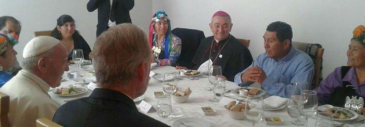 Los 'doce apóstoles' del Papa en la Araucanía
