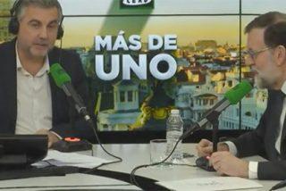 Rajoy se presenta a la entrevista con Alsina con la chuleta de las películas para los Oscar pero la jugada le sale regular