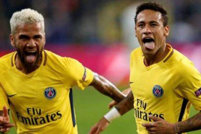 Alves revela por qué salió su amigo Neymar del Barcelona