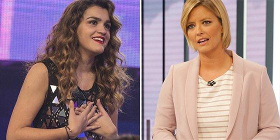 El inocente pero brutal 'zasca' de Amaia de España a 'La Mañana de TVE'