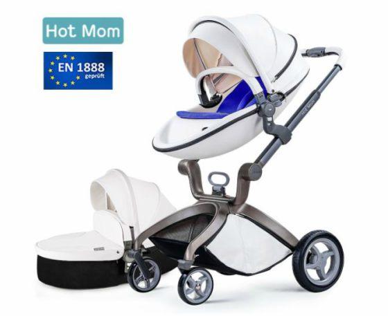 Bebé Cochecito 2018, Hot Mom Cochecito Con Capazo Combina