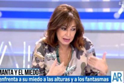 """Ana Rosa Quintana abronca a la mujer de El Chicle y alucina por lo que """"viene"""" en febrero"""