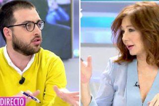 """Ana Rosa pone firme con una tremenda regañina al descarado independentista: """"¡Vale ya de mamarrachadas!"""""""