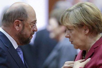 Merkel y Schulz pactan una nueva gran coalición para evitar otras elecciones en Alemania