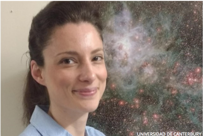 Primer chorro detectado en una joven estrella masiva fuera de la galaxia