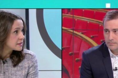 Inés Arrimadas hace trizas a un presentador de TV3 al poner en evidencia las prácticas sectarias de su redacción