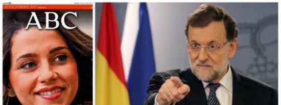 ¿Estarás contento, Mariano? La Junta Electoral, pasiva contra TV3, empapela a ABC por su entrevista a Arrimadas