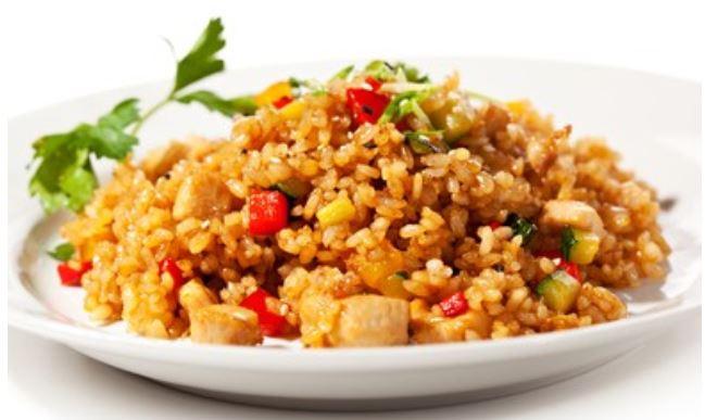 Trucos para hacer arroz chino con pollo🈲🥢