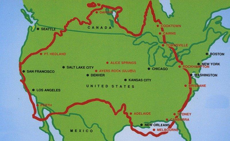 Un trozo de América está unido a Australia desde hace 1.700 millones de años