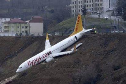 El avión que casi termina en el Mar Negro por un despiste