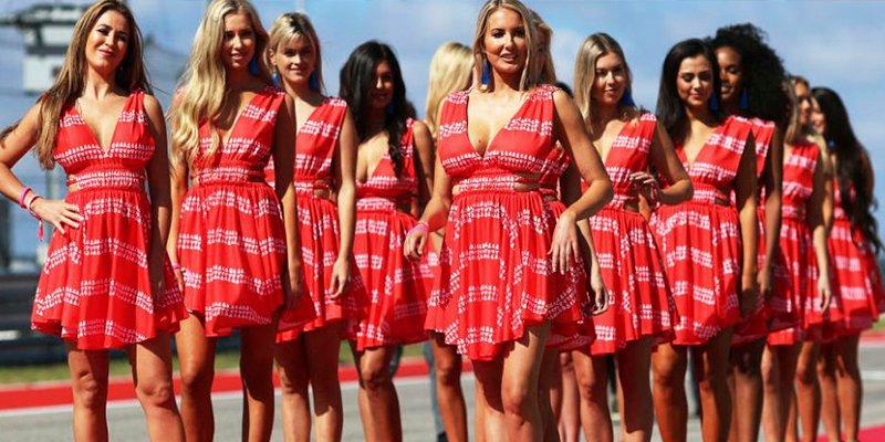 No volverás a ver azafatas en la F1
