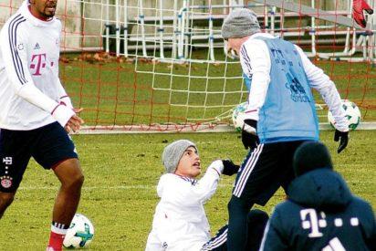James Rodríguez casi se lía a puñetazos con un compañero del Bayern Múnich