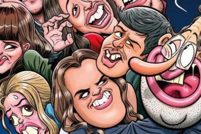 """Los cagones de 'El Jueves' enloquecen contra un """"baboso"""" Rajoy acosando a los chicos de OT"""